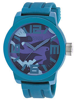 Kenneth Cole Reaction Silicone - Blue Mens watch #RK1367