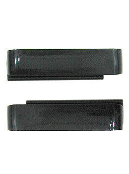 Wize & Ope Unisex WO Black Plastic Exchangeable Slides #SL-006