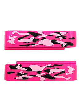 Wize & Ope Unisex WO Black/Pink Camo Exchangeable Slides #SL-093