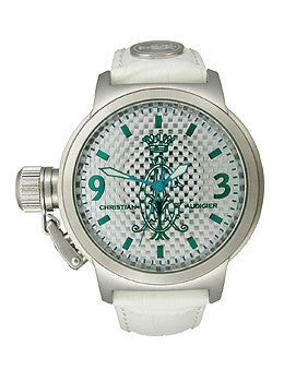 Christian Audigier Analog Collection Bliss-Blue Silver Dial Unisex watch #SPE-612