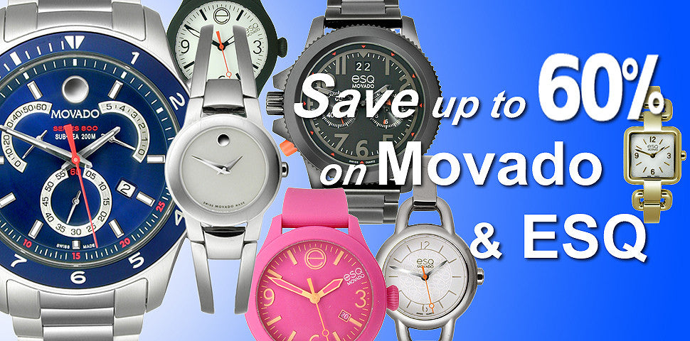 Buy Movado watches on Sale