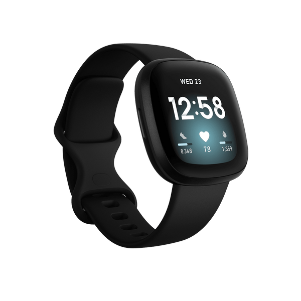 Fitbit Activity Monitors Fitbit Versa 3 Health & Fitness Smartwatch with GPS