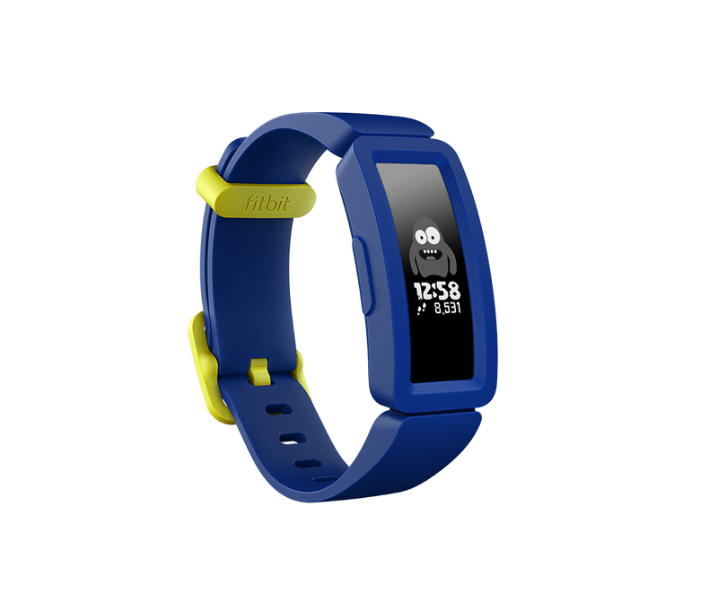 Fitbit Activity Monitors Night Sky + Neon Yellow Fitbit Ace 2 ACTIVITY TRACKER FOR KIDS 6+