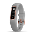 Garmin Activity Monitors Small/Medium / Gray with Rose Gold Hardware Garmin Vivosmart 4 Wellness and Fitness Tracker