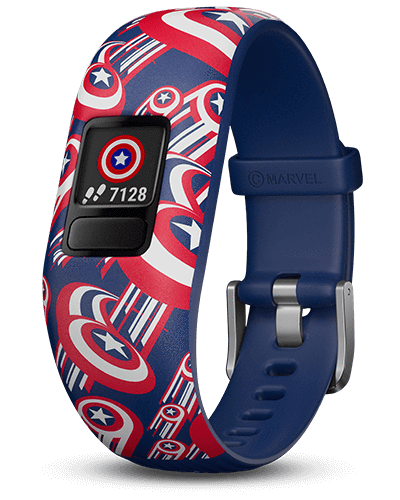 Garmin Garmin Accessories 6+ / Captain America Garmin Vivofit Jr 2 Replacement Bands