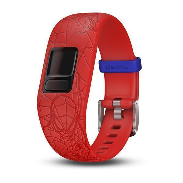 Garmin Garmin Accessories 6+ / Spider-Man Red Garmin Vivofit Jr 2 Replacement Bands
