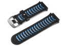 Garmin Garmin Accessories Blue/Black Garmin Replacement Band designed for Forerunner 920XT