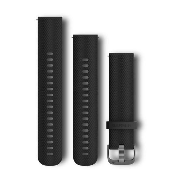 Garmin Garmin Accessories Two Sizes Included / Slate / Black with Slate Quick Release Bands (20 mm)