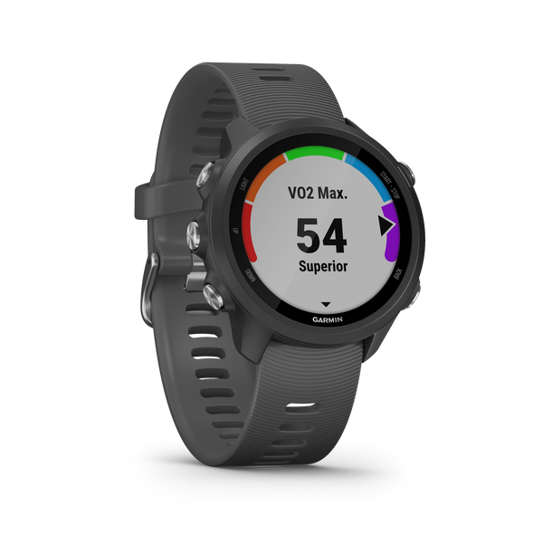Garmin Running Watches Non-Music / Slate Gray Garmin Forerunner 245 GPS Running Smartwatch