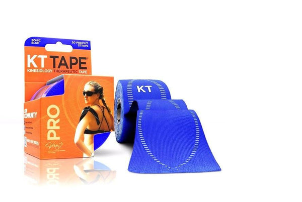 KT Tape Sports Therapy Sonic Blue KT Tape Pro Synthetic (Pre-cut 20 strips)