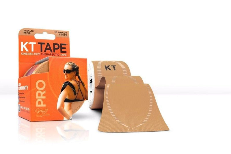 KT Tape Sports Therapy Stealth Beige KT Tape Pro Synthetic (Pre-cut 20 strips)