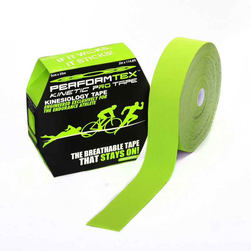 Performtex Kinesiology Tape Speed Green / 35 Meter PerformTex Kinetic Pro Kinesiology Tape