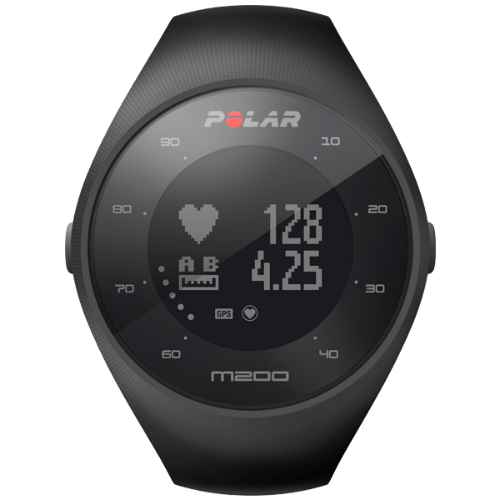 Polar Running Watches Black Polar M200 GPS Strapless Heart Rate Watch