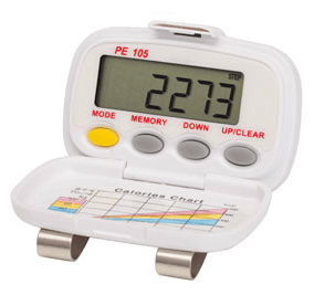 PE-105 Tri-Axis Multi-Function Pocket Pedometer (PE105)