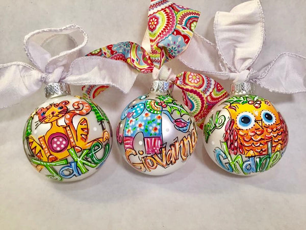 ORNAMENT, PERSONALIZED TIGER Ornament