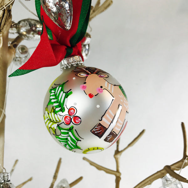 PERSONALIZED REINDEER Ornament