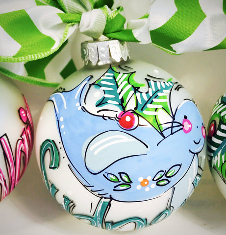 ORNAMENT, PERSONALIZED SEAL Ornament