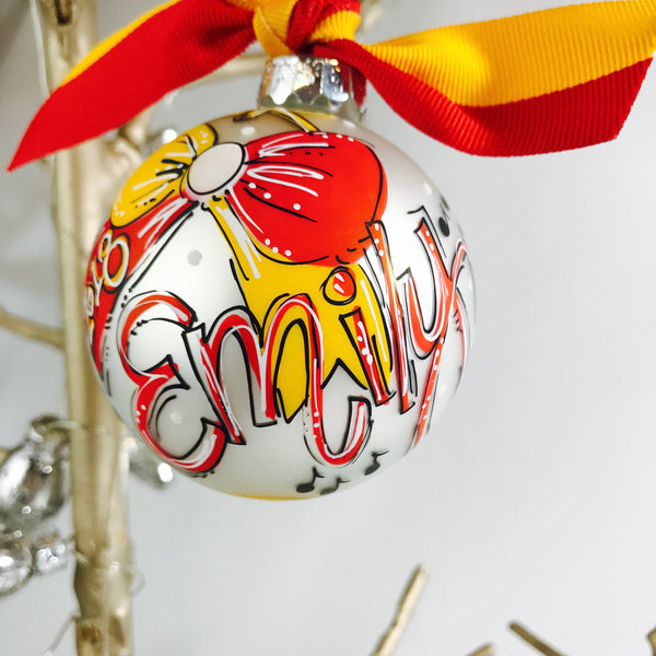ORNAMENT, CHEER, Personalized CHRISTMAS Ornament