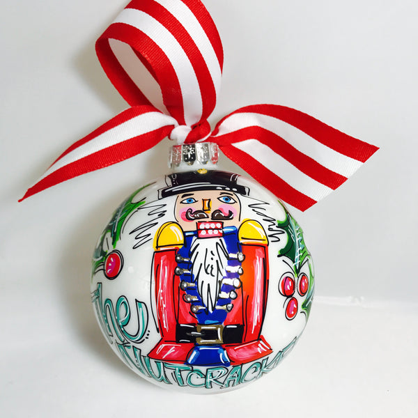 ORNAMENT, PERSONALIZED NUTCRACKER Ornament