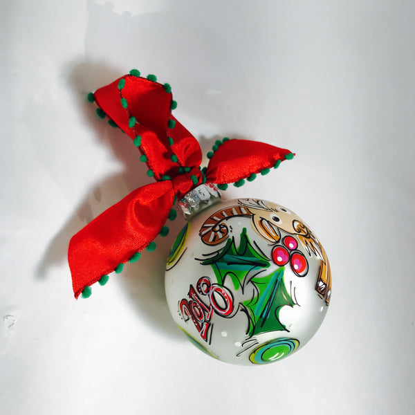 ORNAMENT, PERSONALIZED GOAT Ornament