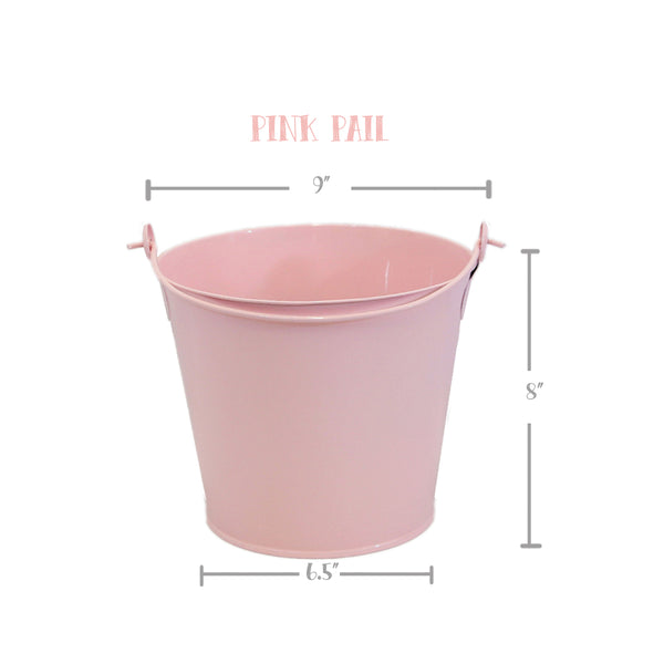 PINK Bunny Pail