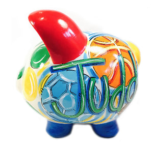PIGGY BANK (Ceramic) ALL-STAR, Personalized