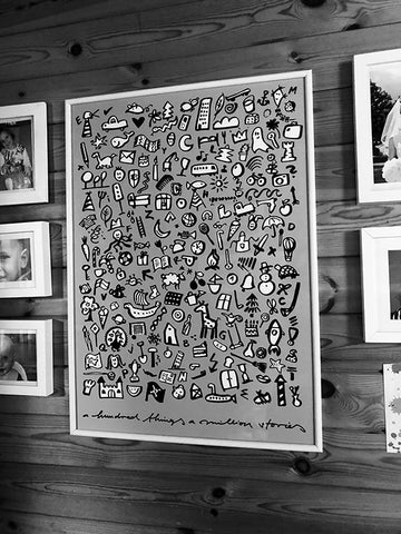 spoon. a million stories poster a million stories art print at home