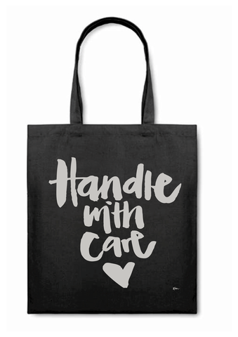 HANDLE WITH CARE BAG