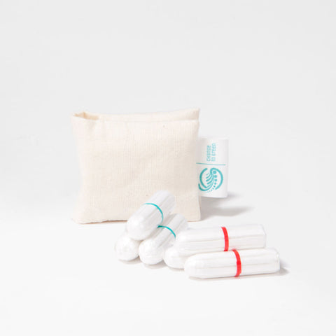 Change to Green Organic Tampon Trial Kit