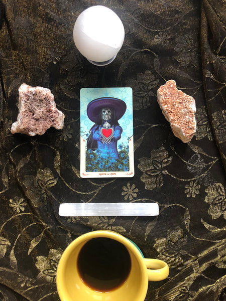 Tarot Talk : The Queen of Cups