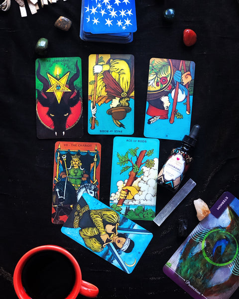 Last Days of April Tarot Spread