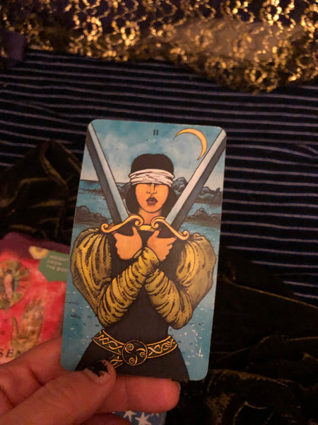 Two of Swords in times of unknown
