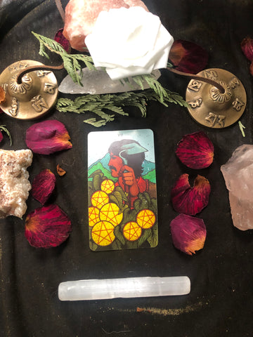 7 of Pentacles Tarot