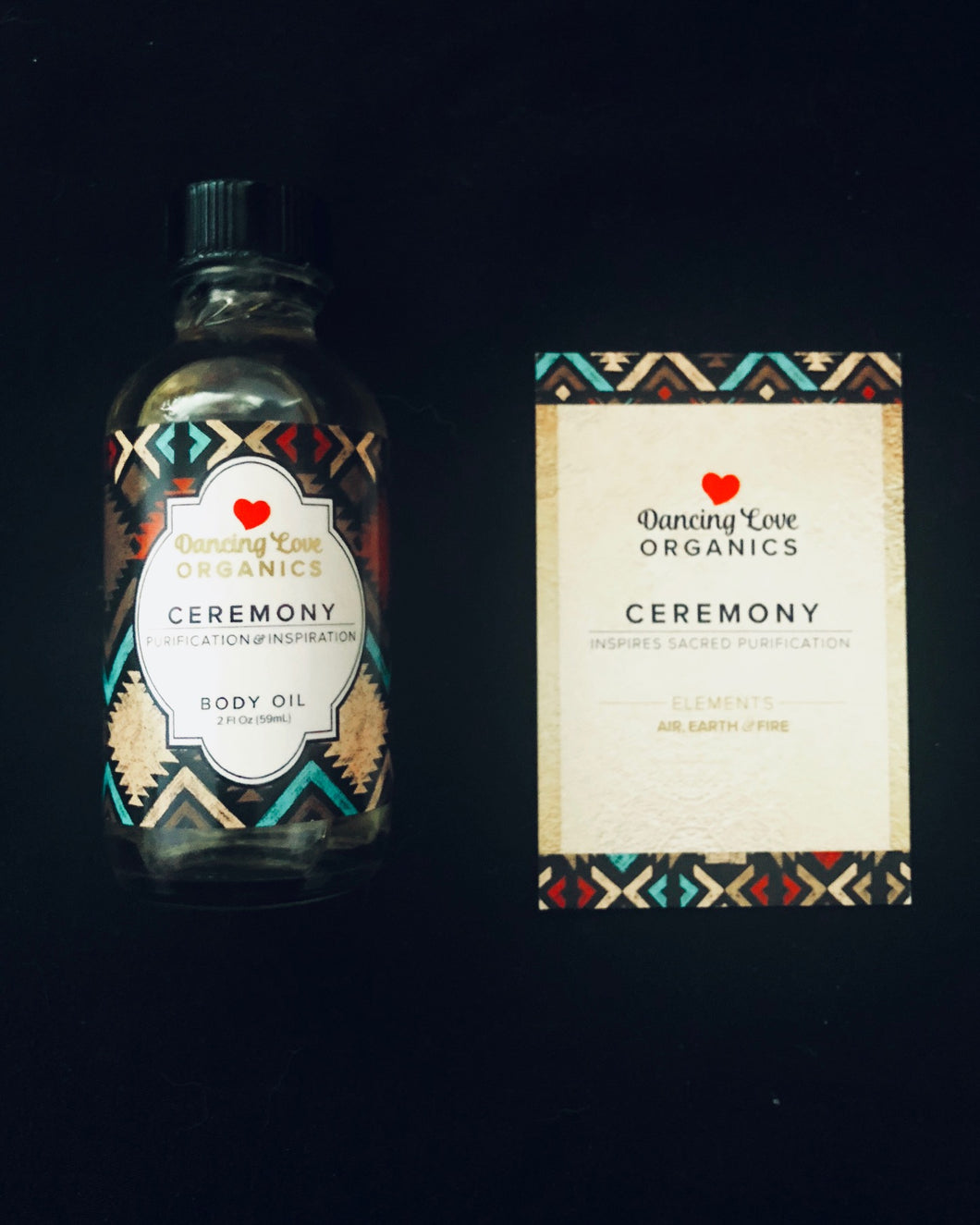 Ceremony Body Oil - dancing love organics