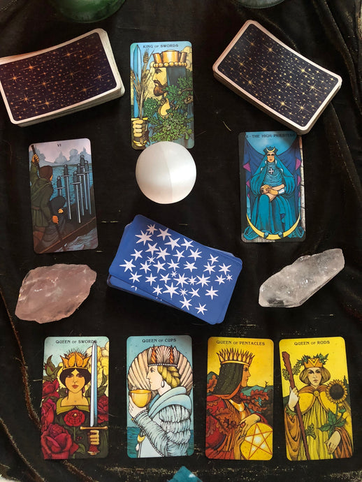 Video Tarot Spread - dancing love organics