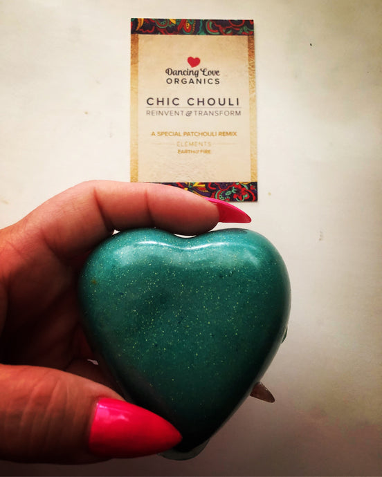 Chic Chouli Body Soap - dancing love organics