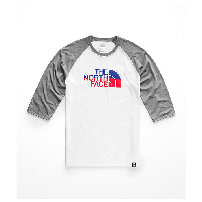 The North Face 3/4 Americana Tri-Blend Baseball Tee - Men's