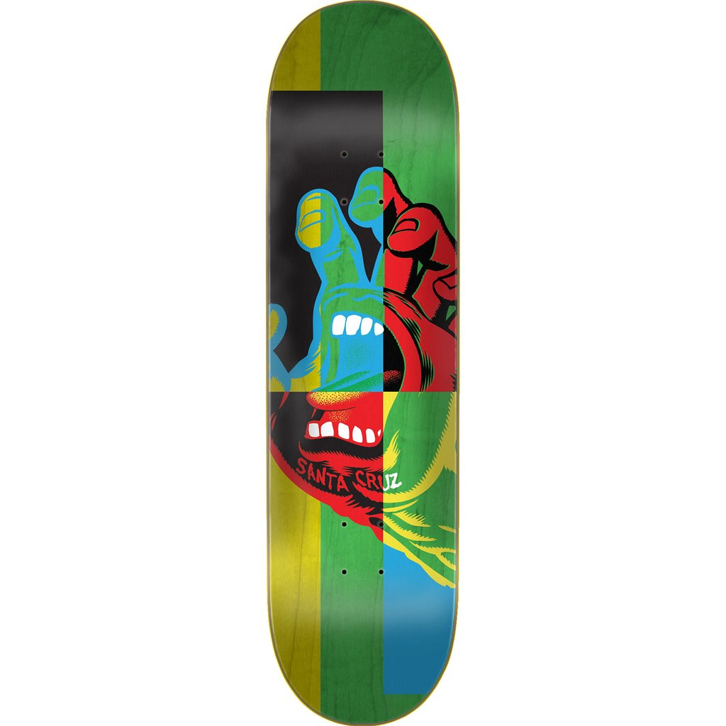 "Santa Cruz Handblocker Skateboard Deck 7.25""x29.9"""