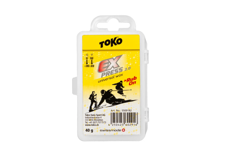 Toko Express Rub On Wax, Universal Temp