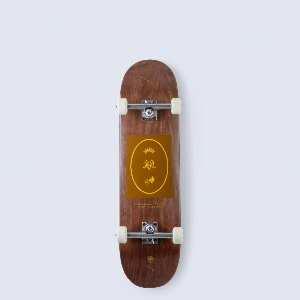 Arbor Recruit Whiskey Skateboard
