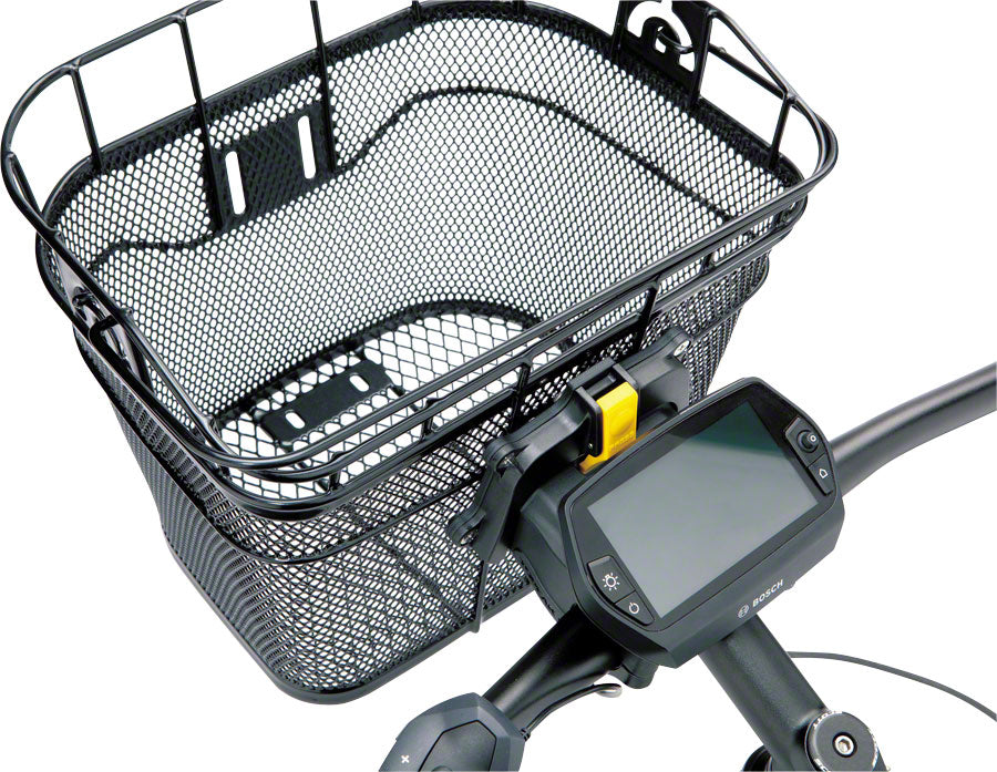 Topeak Front Basket with Fixer 3 Handlebar Bracket: Black