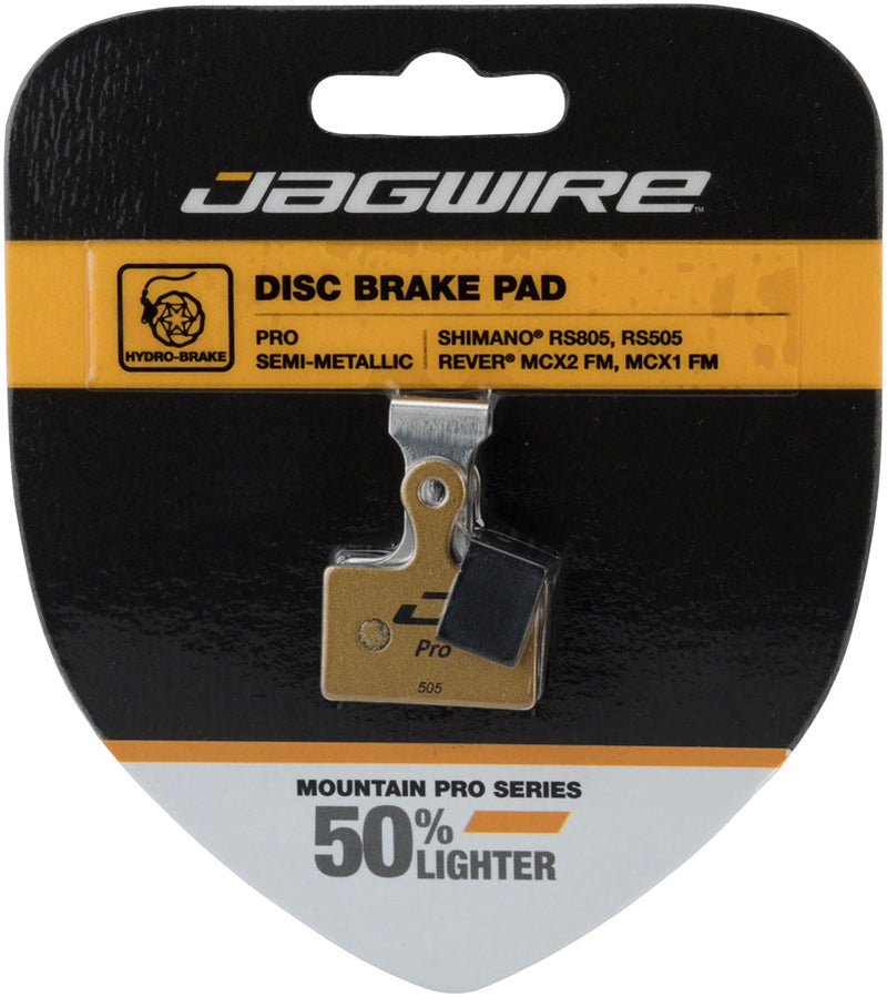 Jagwire Pro Aluminum Back Disc Brake Pad for Shimano Road/CX RS805, RS785, RS505, RS405, RS305