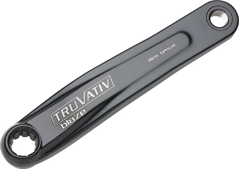 TruVativ Left ISIS Crank Arm 175mm Black with Blaze Logo