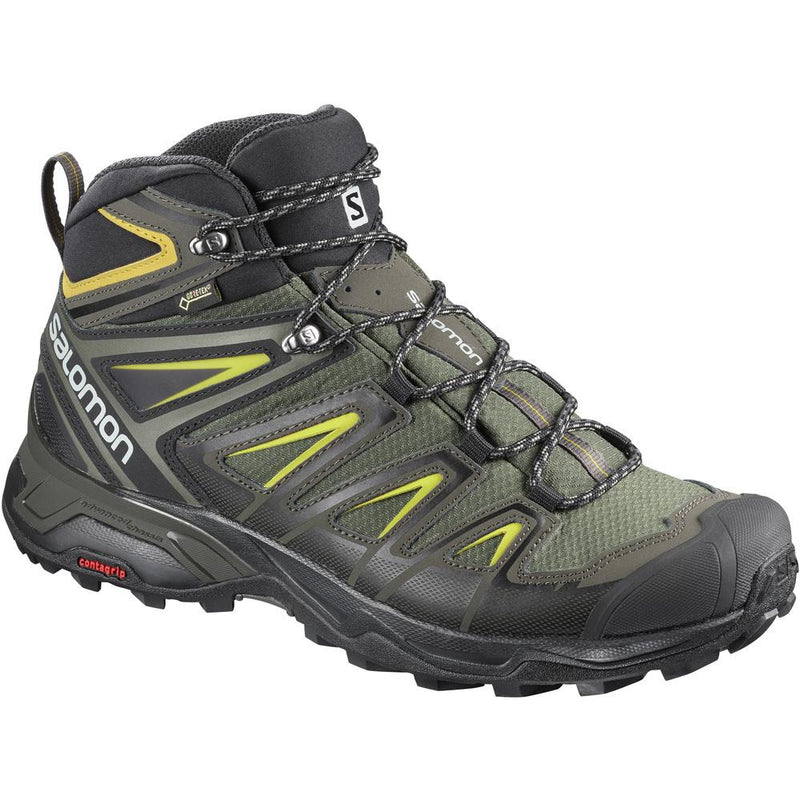 Salomon X Ultra 3 Mid GoreTex Hiking Boots - Men's