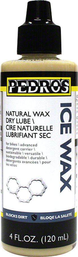 Pedro's Ice Wax Bike Chain Lube - 4 fl oz, Drip