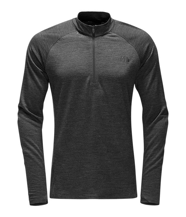 The North Face - Men's Wool Baselayer L/S Zip Neck