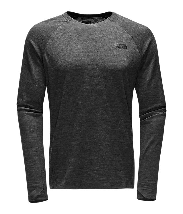 a738309c2 The North Face - Men's Wool Baselayer L/S Crew Neck HGR