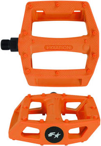 Fyxation Gates PC Pedals Orange