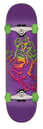 Santa Cruz Throwdown Hand Complete Skateboard 7.75in x 28.5in