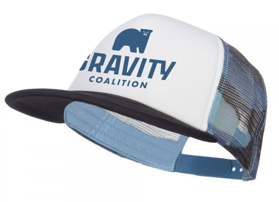 Gravity Coalition Camo Trucker Hat